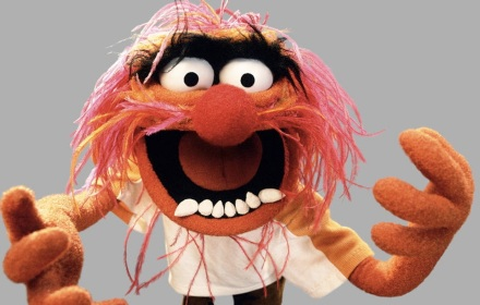 "THE MUPPETS - ABC's ""The Muppets"" stars Animal. (ABC/The Muppets Studio)"